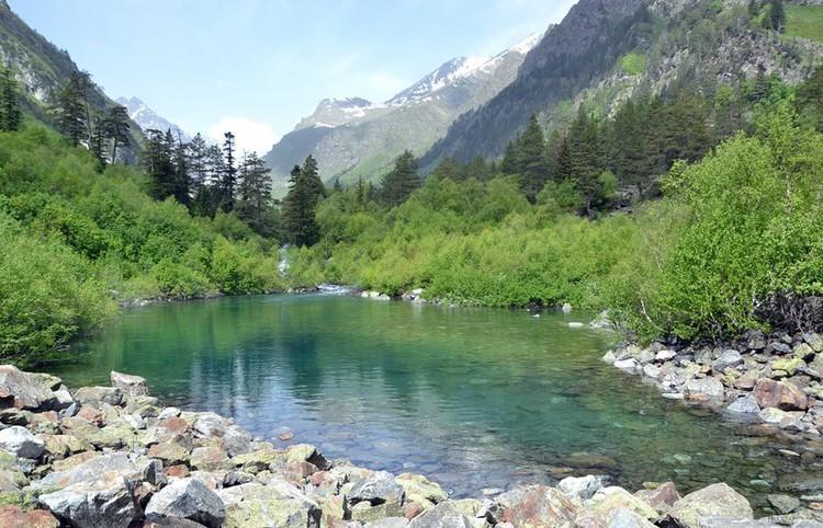 Первое Бадукское озеро фото