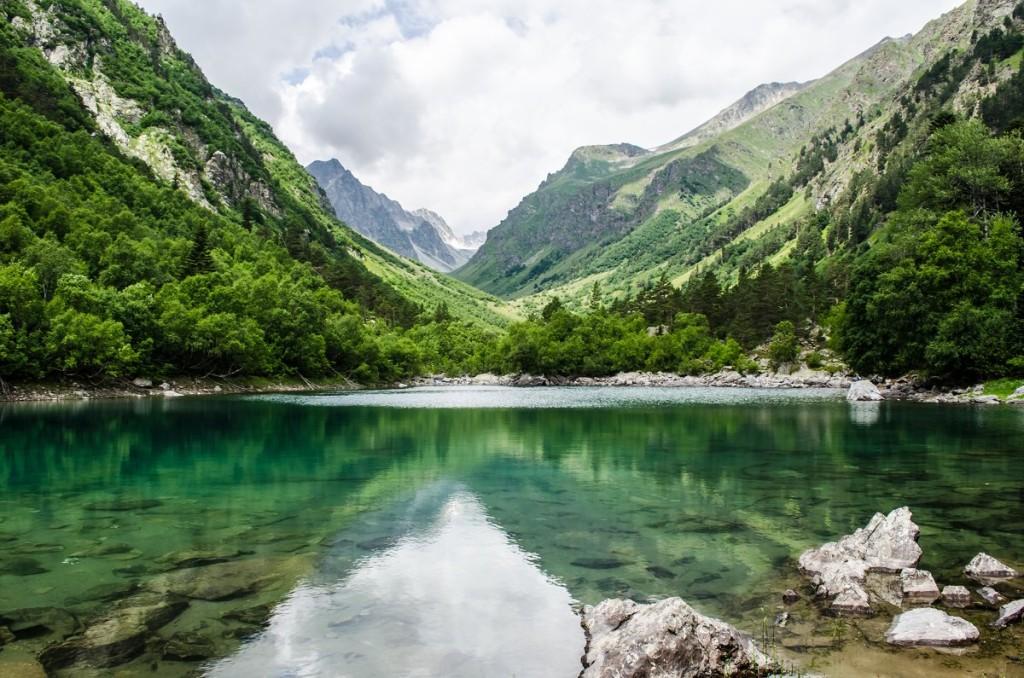 Второе Бадукское озеро фото