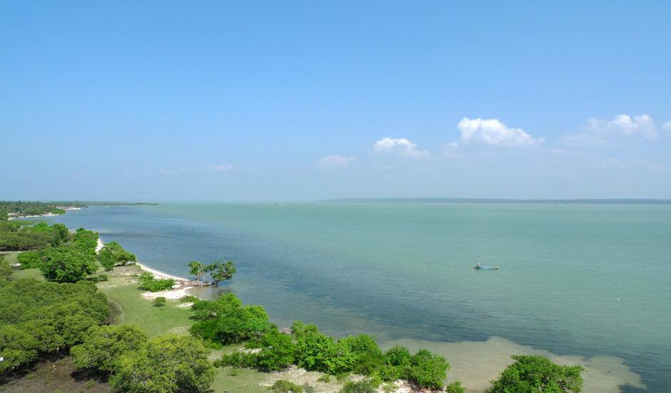 Кайтсерфинг курорт Калпития Шри-Ланка