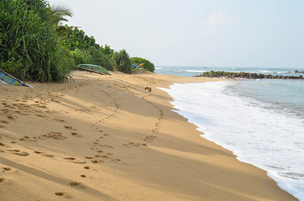 Мирисса пляж