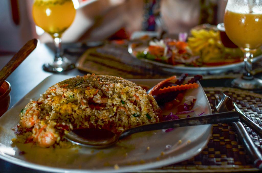 Ресторан в Галле Форт еда