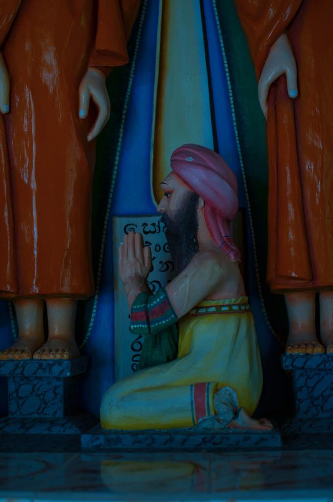 Озеро Коггала Шри Ланка храм будды 2