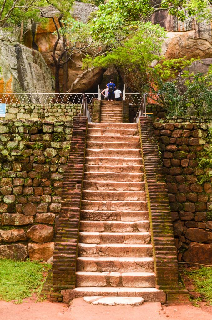 Лестница на Львиную скалу