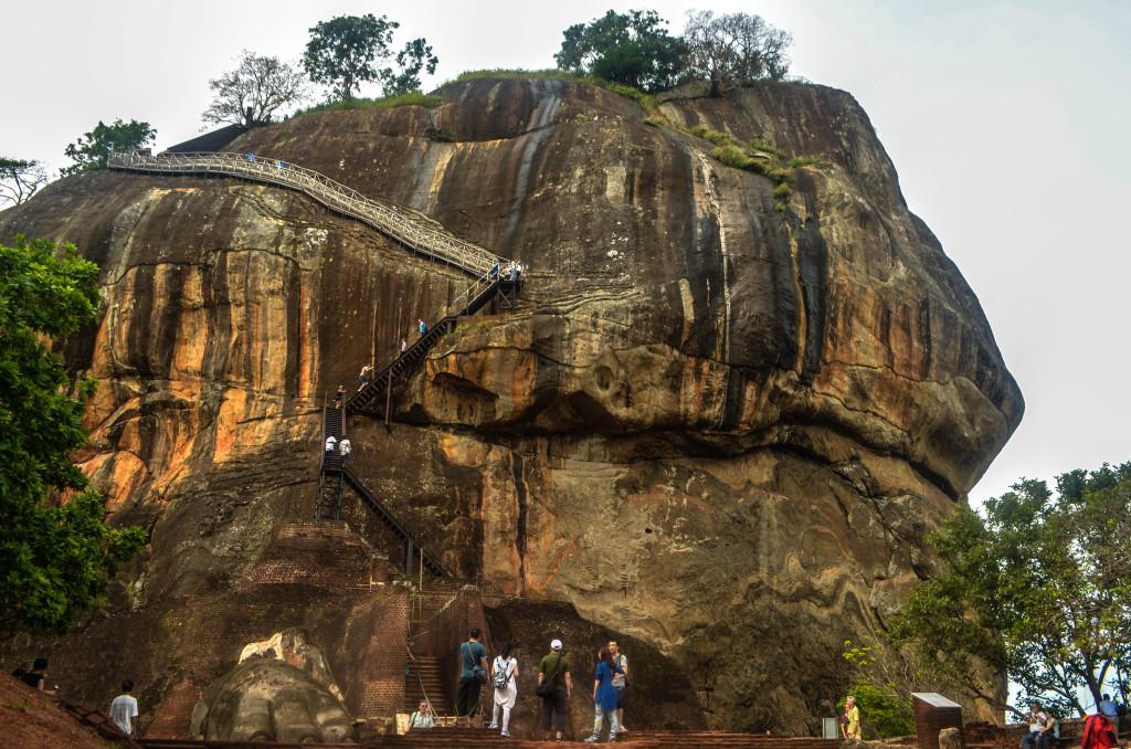 Гора Сигирия Шри-Ланка
