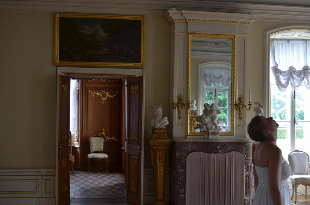 Зал в итальянском домике Кусково