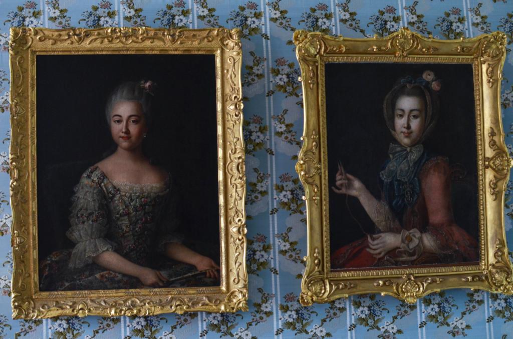 портретная галерея усадьбы кусково