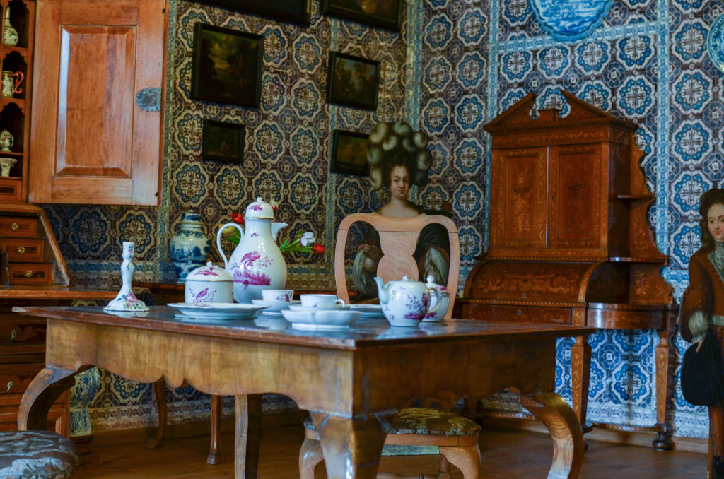 Кухня в Голландском домике Кусково