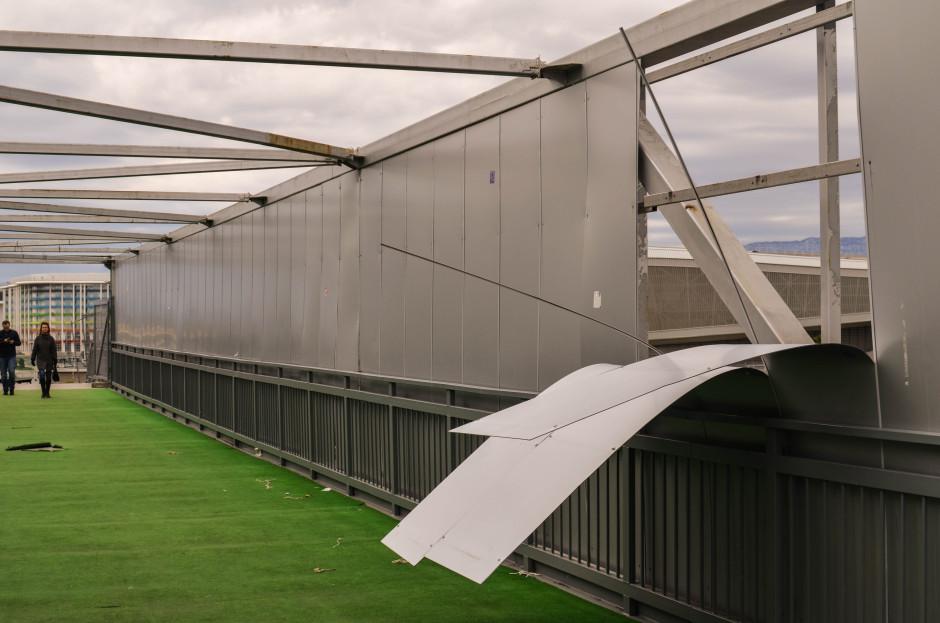 Мост через трассу F1 сочи