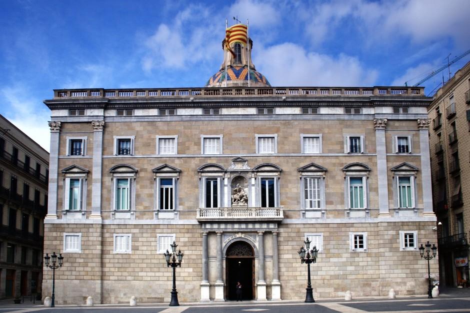 Правительство Каталонии в готическом квартале