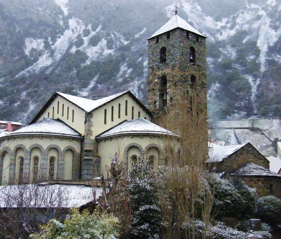 Эскальдес Андорра - Церковь Сант Пере Мартир