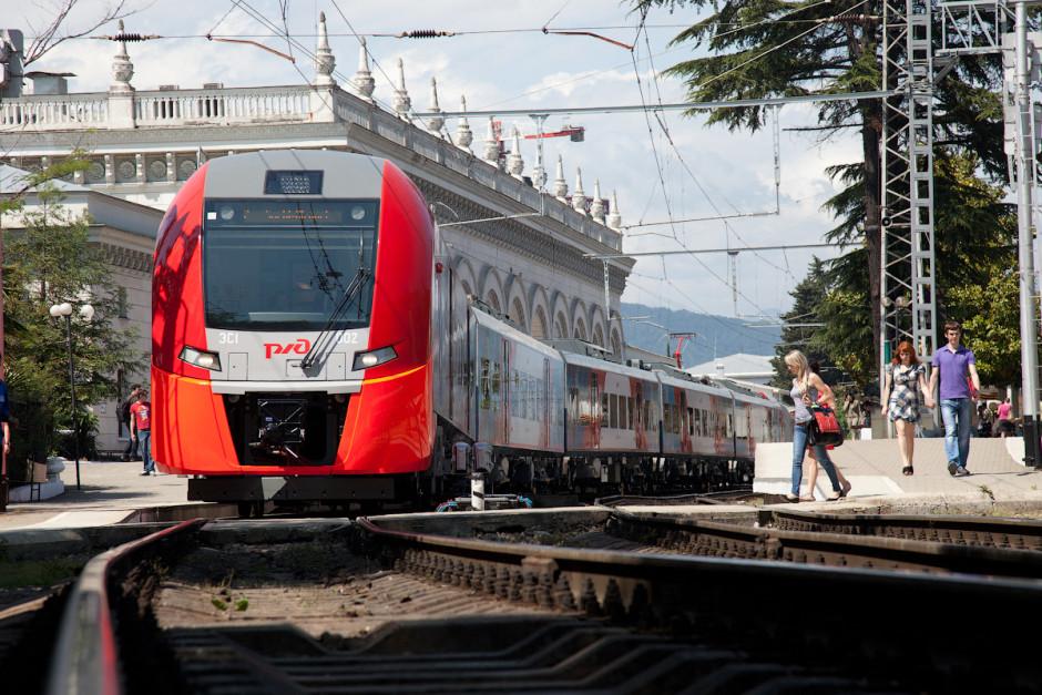 Как добраться из Краснодара в Сочи по железной дороге