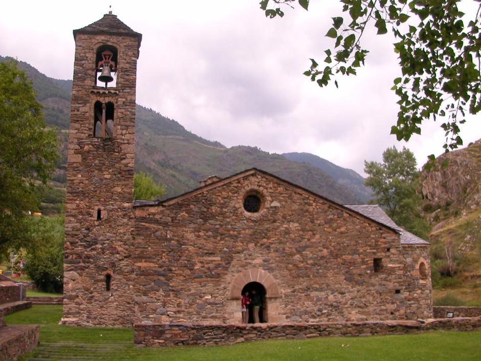 Ордино в Андорре - Церковь Святого Мартина
