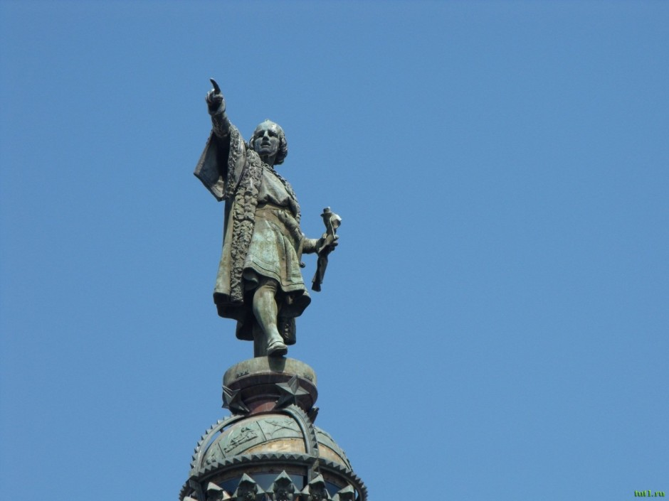 Памятник Колумбу Барселона