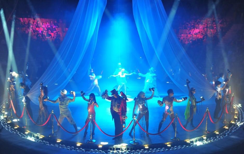 Cочинский государственный цирк, фото представления