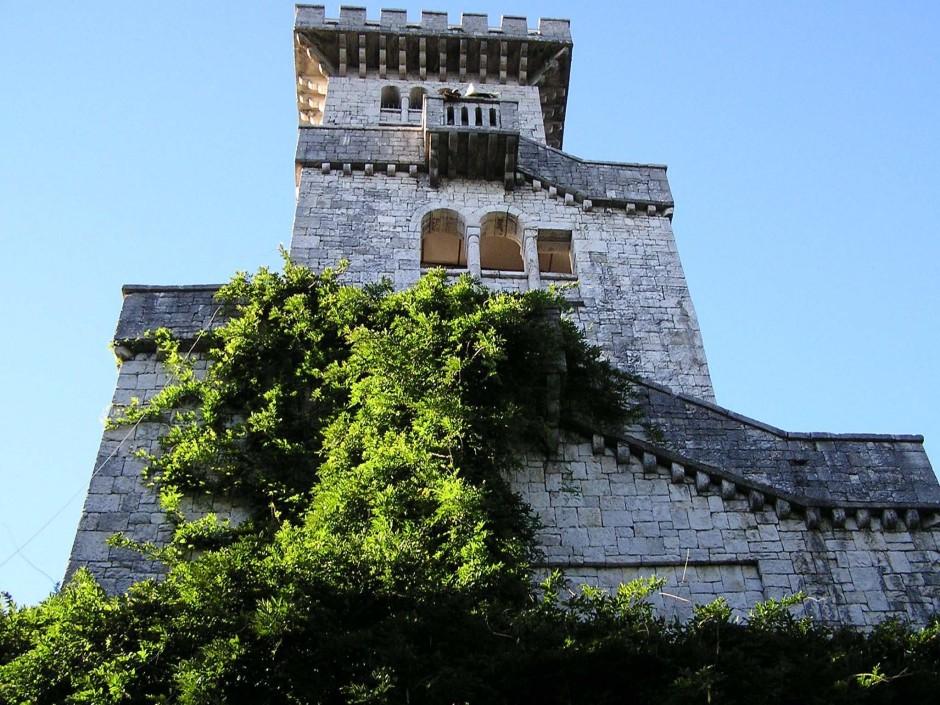 Достопримечательности Сочи - Башня Ахун