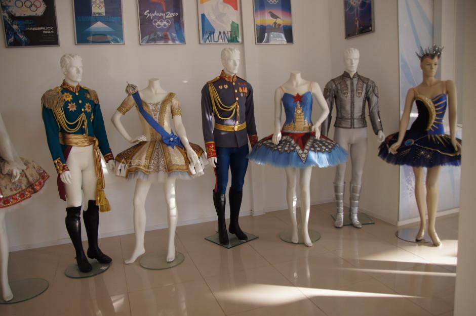 Музей спортивной славы Сочи, фото внутри