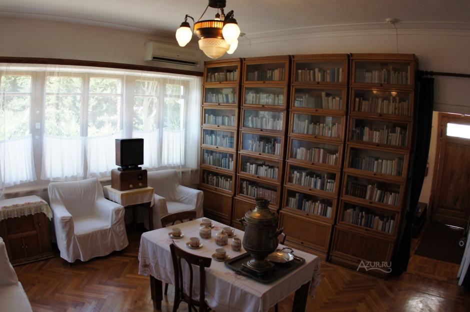 Музей Островского в Сочи, фото внутри