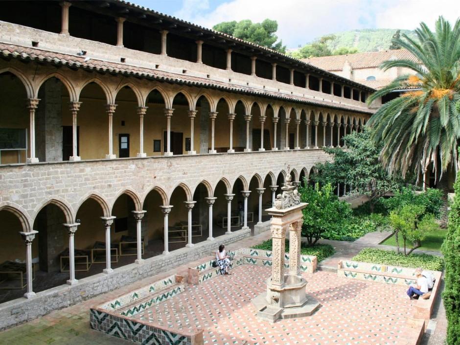 Музей-монастырь Педральбес в Барселоне