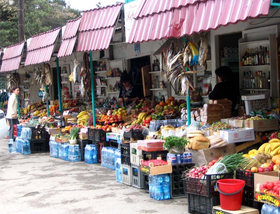 Домбайский рынок