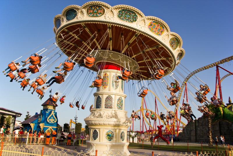 Тематический Парк развлечений Сочи Парк