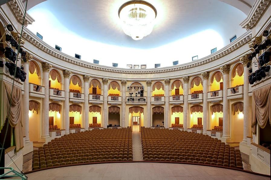 Зимний театр Сочи фото зала