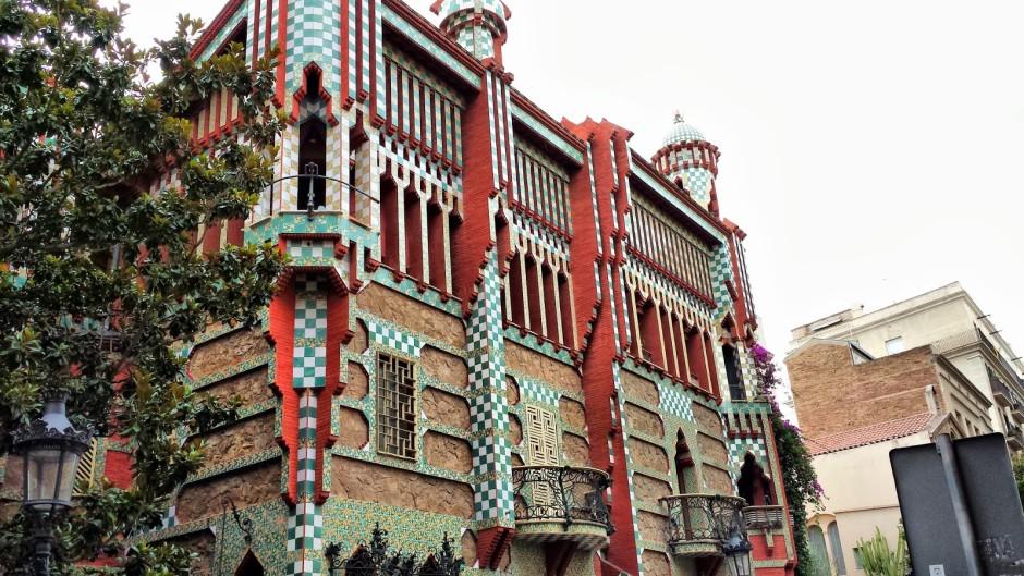 Дом Висенс  в Барселоне