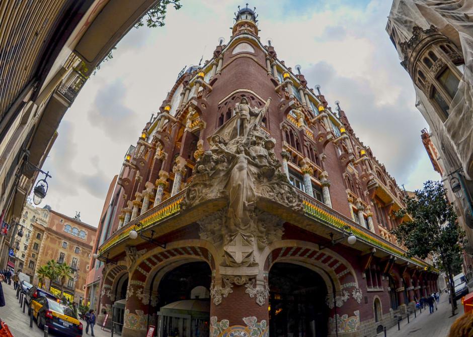 Достопримечательности Барселоны фото с названиями Дворец каталонской музыки