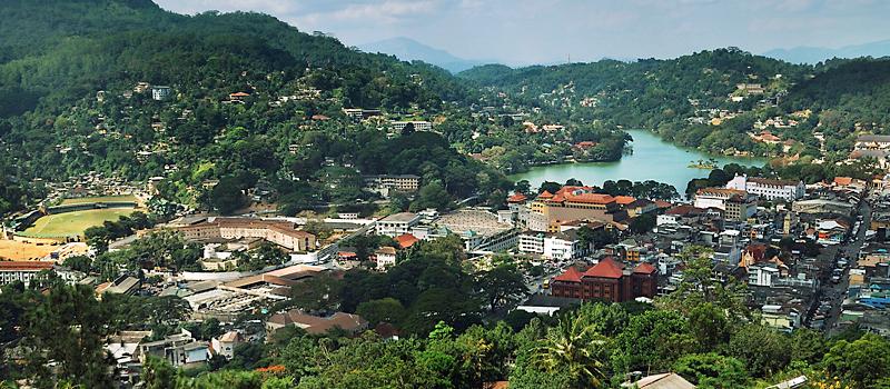 Город Канди Шри-Ланка