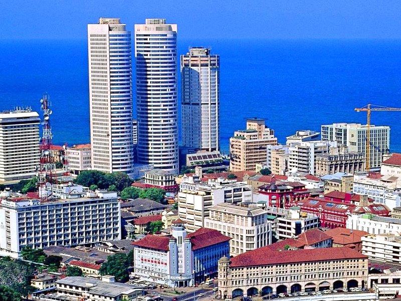 город Коломбо Шри Ланка