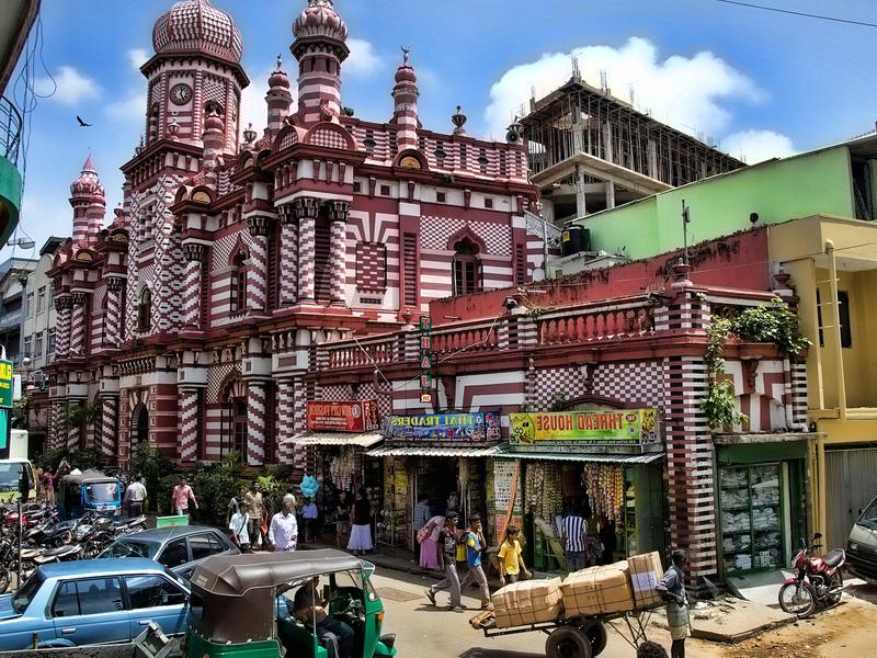 Мичеть в Коломбо Джамуль-Альфар