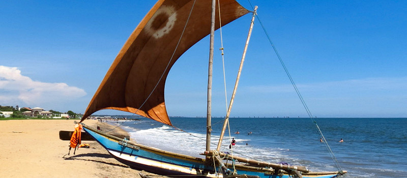 Пляж Негомоб Шри-Ланка